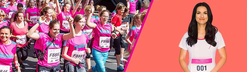 Эйвон Украина - марафон против рака