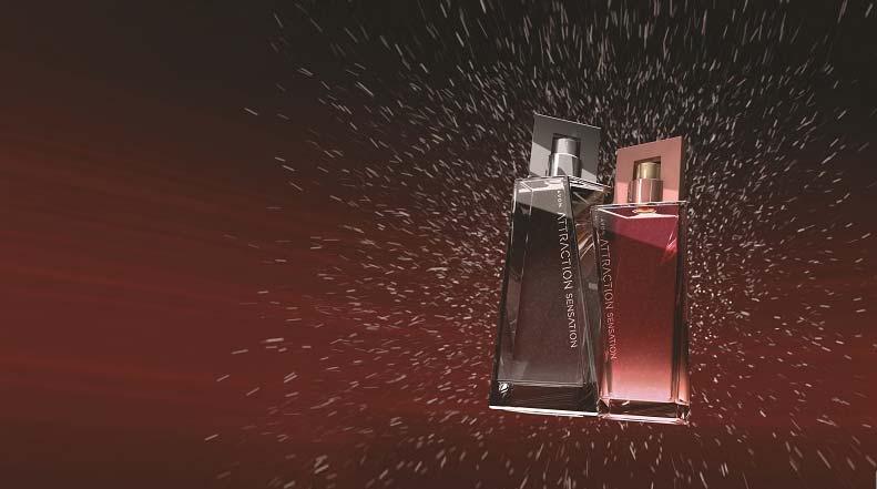 Новій аромат от Эйвон Attraction Sensation